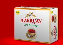 Чай черный AZERCAY 100 пакетов с чабрецом Азербайджан