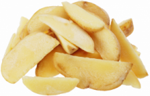 Картофель фри молодой по деревенски 2,5 кг